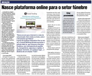 Nasce plataforma online para o setor fúnebre
